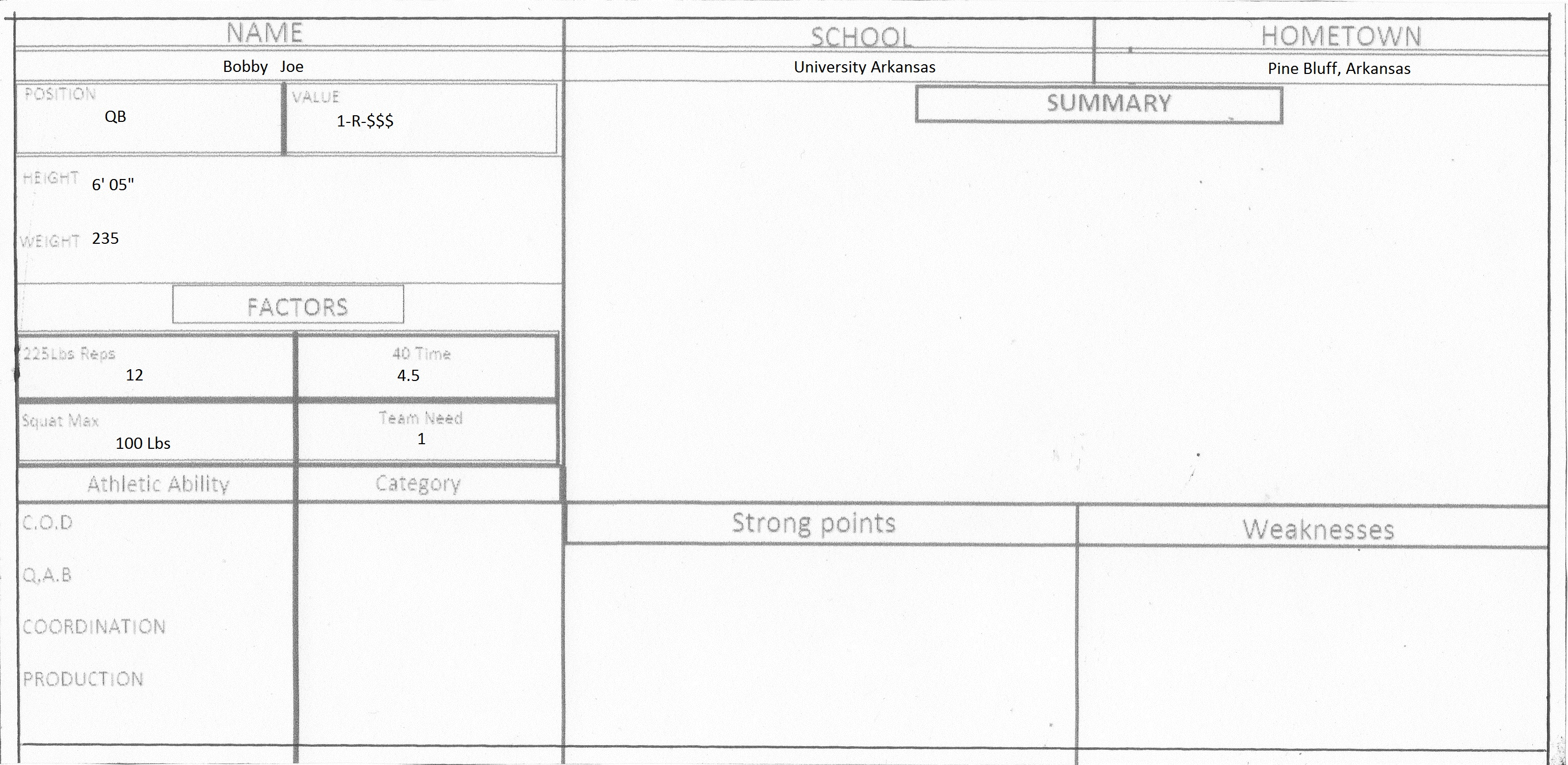Scouting Reports With Basketball Scouting Report Template